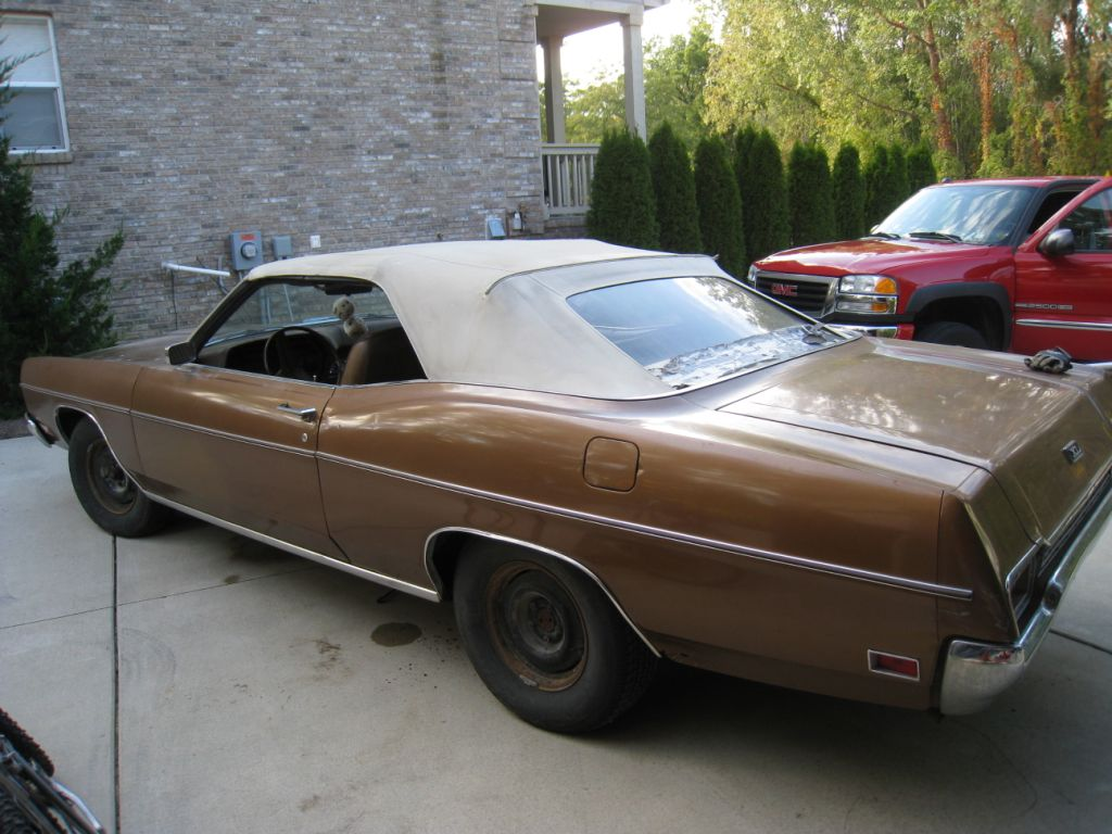 1970 Ford Xl 500 Galaxie Convertible - 460