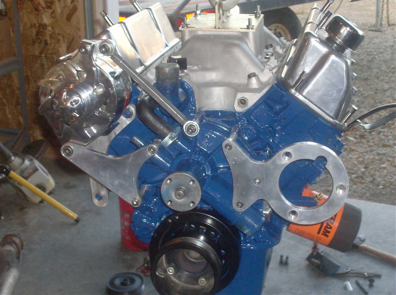 Ford 351 Windsor Crate Engine ... 302(clevor) Engine - Ford Muscle Forums : Ford Muscle Cars Tech Forum