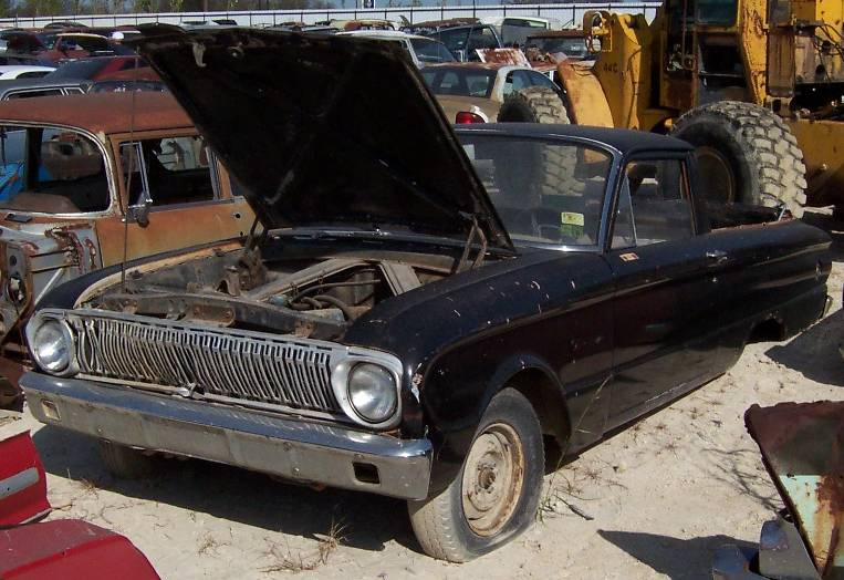 Fords In Texas Salvage Yard Ford Muscle Forums Ford Muscle Cars