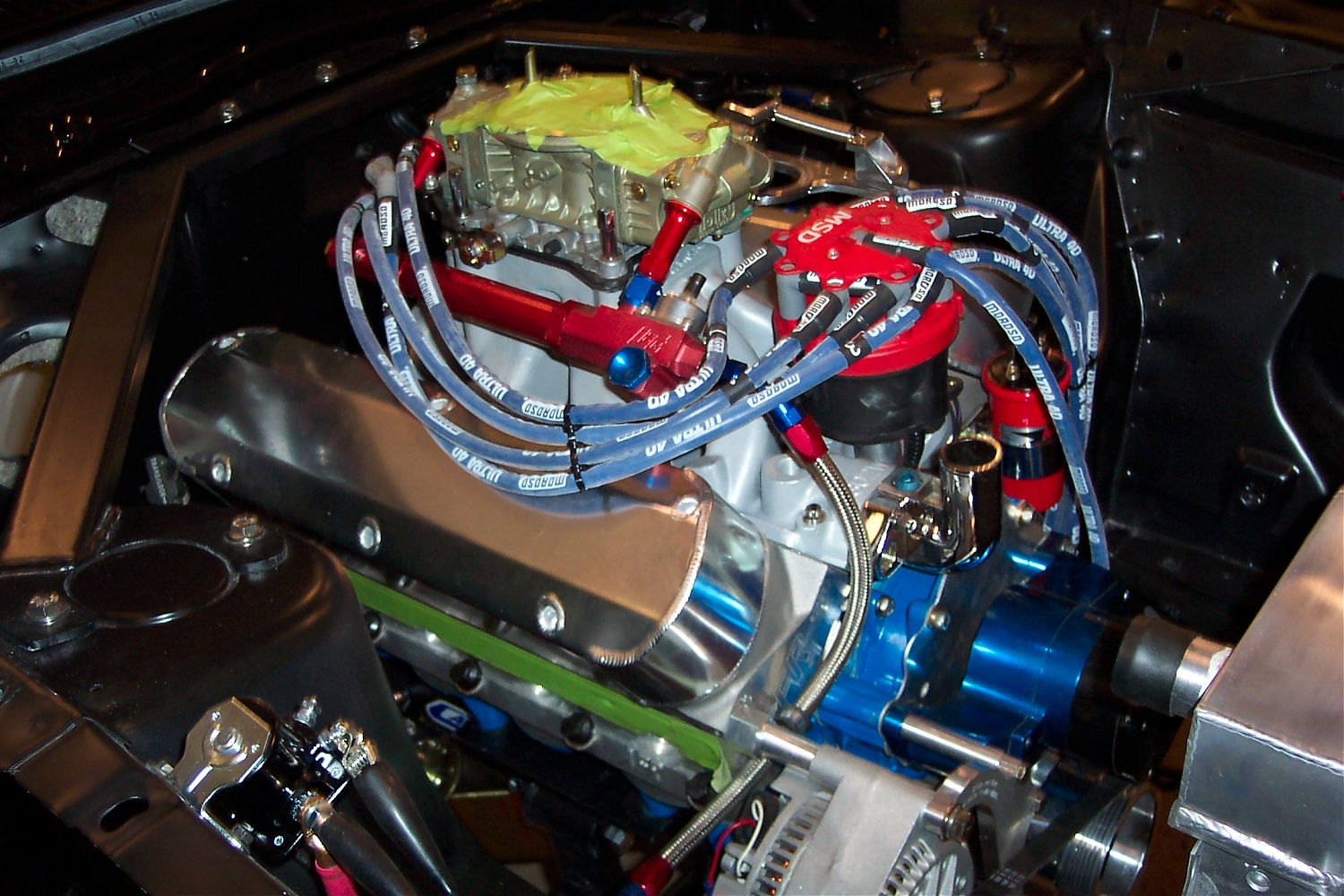 A Few Pics Of The Rod Custom Mustang Ii Install In My 64 Page 2 Click Image For Larger Versionnamemustang8792powerwindowwiring Version Name 100 0786 00 Views 1731 Size 111