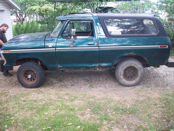 1979 Bronco Ranger XLT - Ford Muscle Forums : Ford Muscle ...