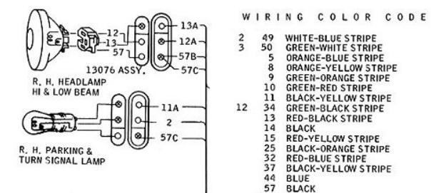 1967 mustang wiring question which wire is the high beam wire rh fordmuscleforums com 67 mustang headlight switch wiring diagram 1967 mustang headlight switch wiring diagram
