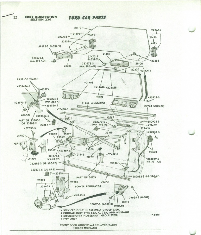 17843d1305289113 need 69 70 mustang side glass diagram 1970 window glass0001 need a 69 and 70 mustang side glass diagram ford muscle forums 1969 mustang door diagram at bayanpartner.co