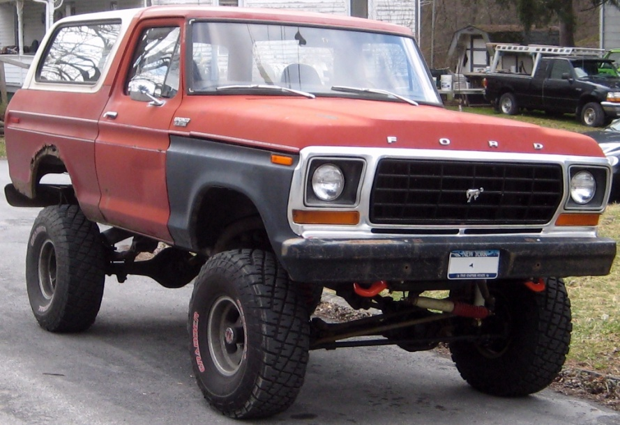 Pictures 78 79 bronco 73 79 f series 4x4 forums bronco s now a pick up