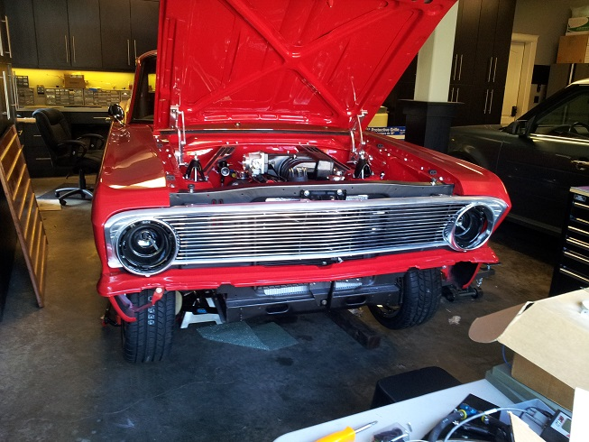 64/5 Falcon custom Billet Grill - Ford Muscle Forums : Ford