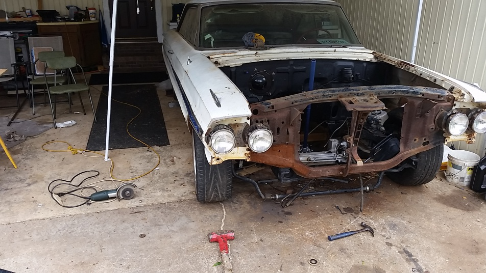 64 galaxie-crown vic merger??? - Page 2 - Ford Muscle Forums
