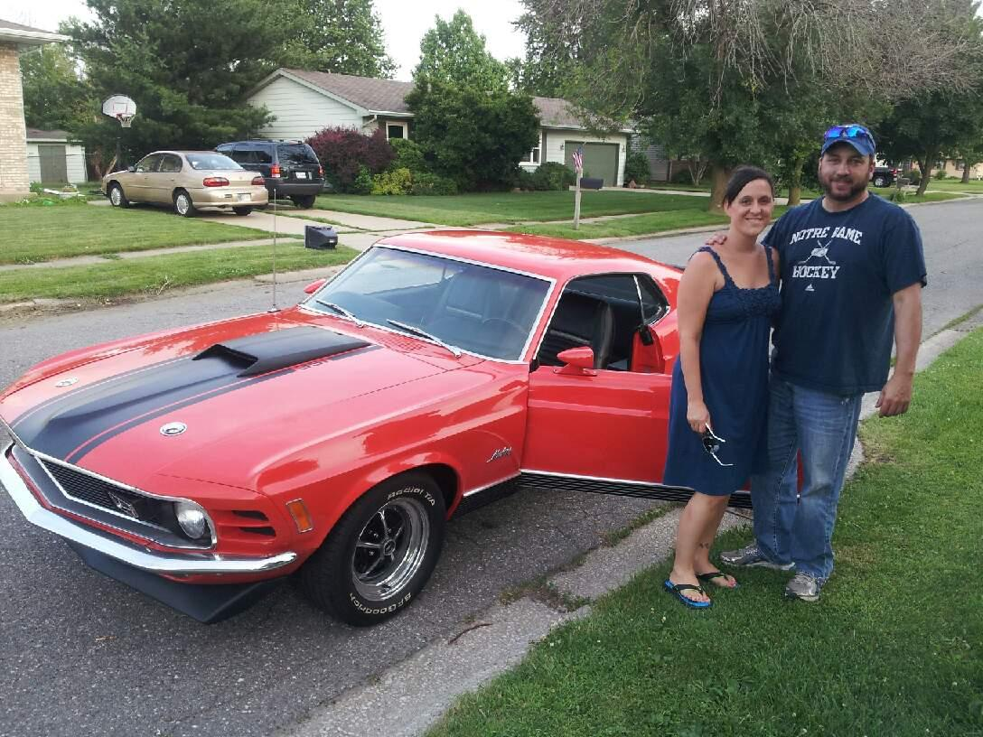 1970 mach1 351c idles good but falls on face when gased