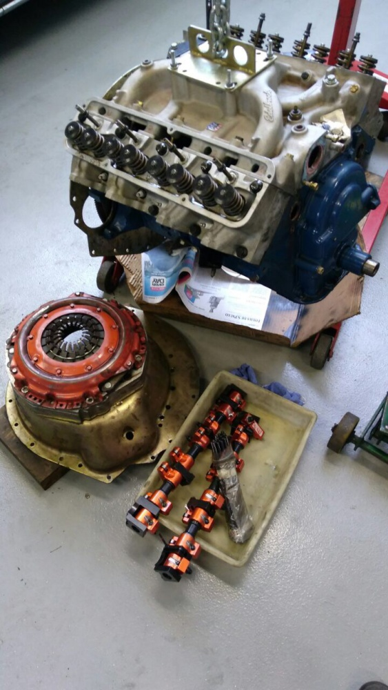 Replacement for FORD FE 390 ENGINE (Mustang 1967) - HELP ...