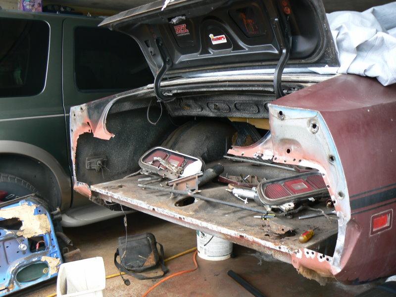 Parts Of Car Rear Bumper
