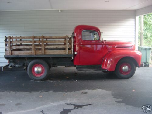 My 47 Ford Stakebed Truck Ford Muscle Forums Ford