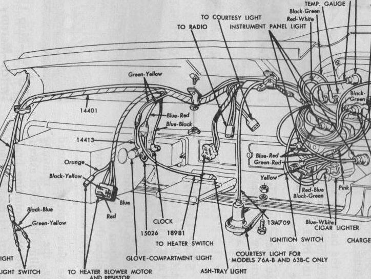 Jpeg Ford 3000 Instrument Panel Ford 3000 Wiring Diagram Jpg Http Www