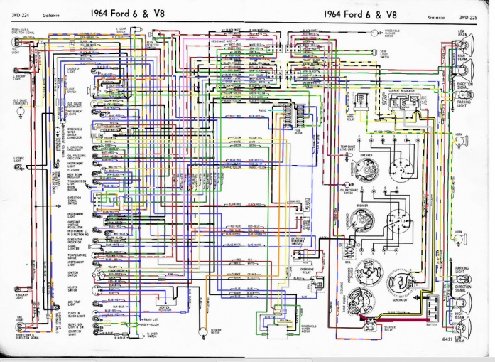 Fader Wiring Diagram 1964 Ford | Wiring Diagram