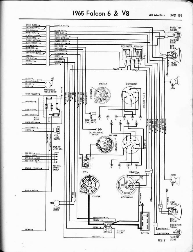 65 Comet Headlight Circuit Diagram