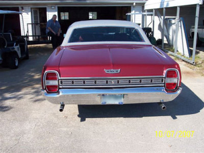 67 sheetmetal interchange? - Ford Muscle Forums : Ford