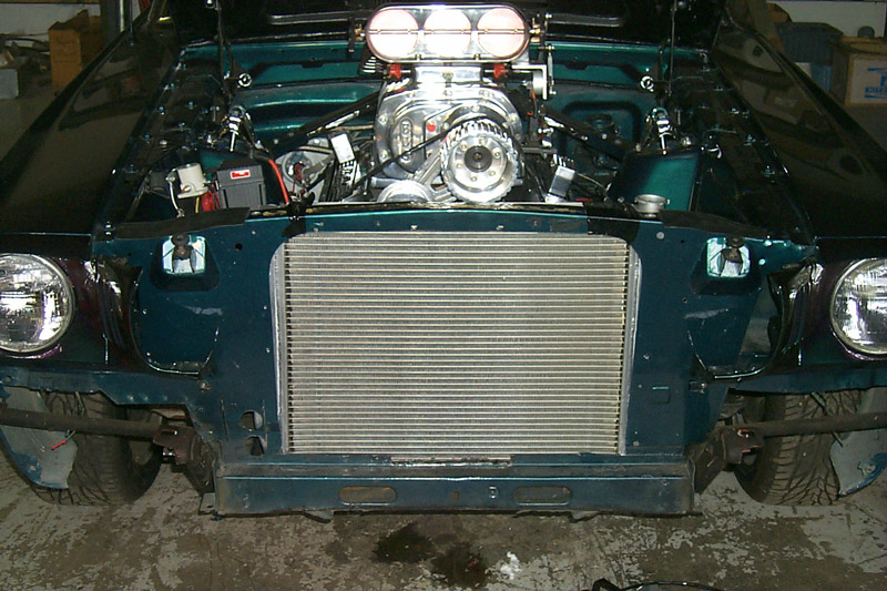 Modifying 65 Radiator Core Support Ford Muscle Forums