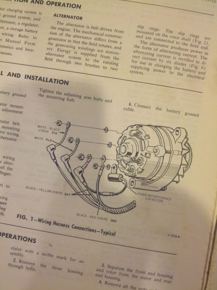 1966 alternator / regulator wiring. | ford muscle cars tech forum  ford muscle forums