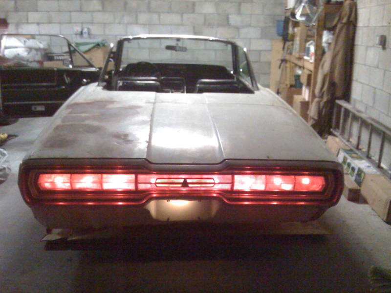 Cars 30k >> 1966 t-bird convertible project - Ford Muscle Forums : Ford Muscle Cars Tech Forum