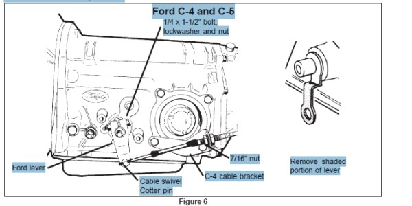 C 4 Transmission >> Really Confused On Shifter Linkage Ford Muscle Forums