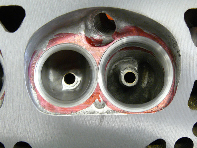 Home ported D0OE 351W head flow numbers - Ford Muscle Forums
