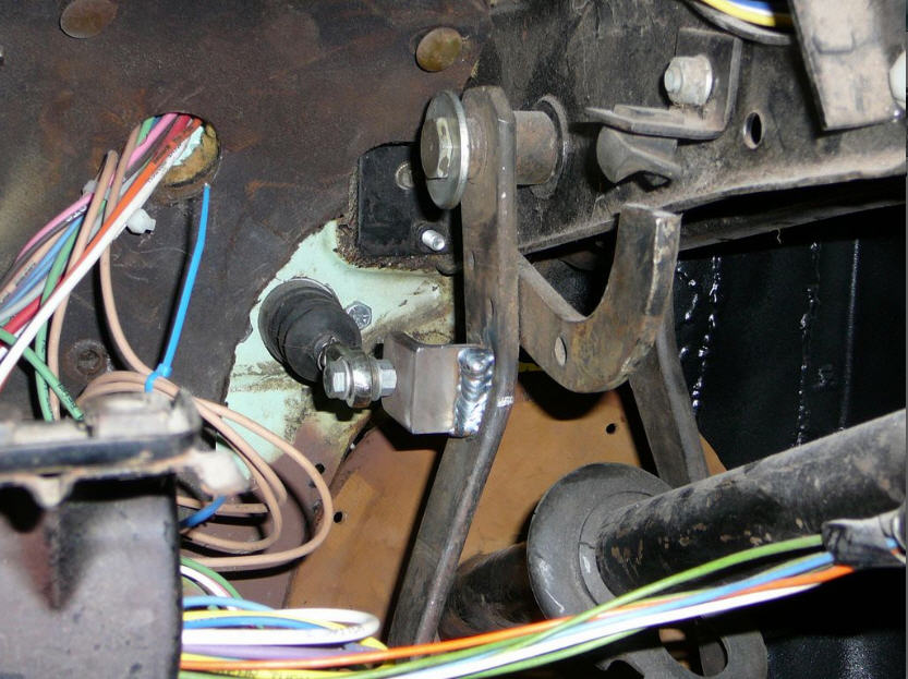 Hydraulic Clutch In A Classic Ford Page 2 Ford Muscle