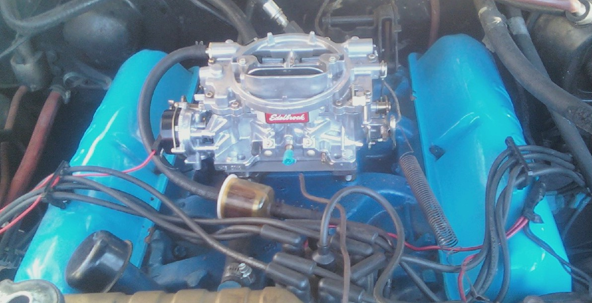 Ready for Carb! Anyone with a size suggestions? - Ford Muscle Forums