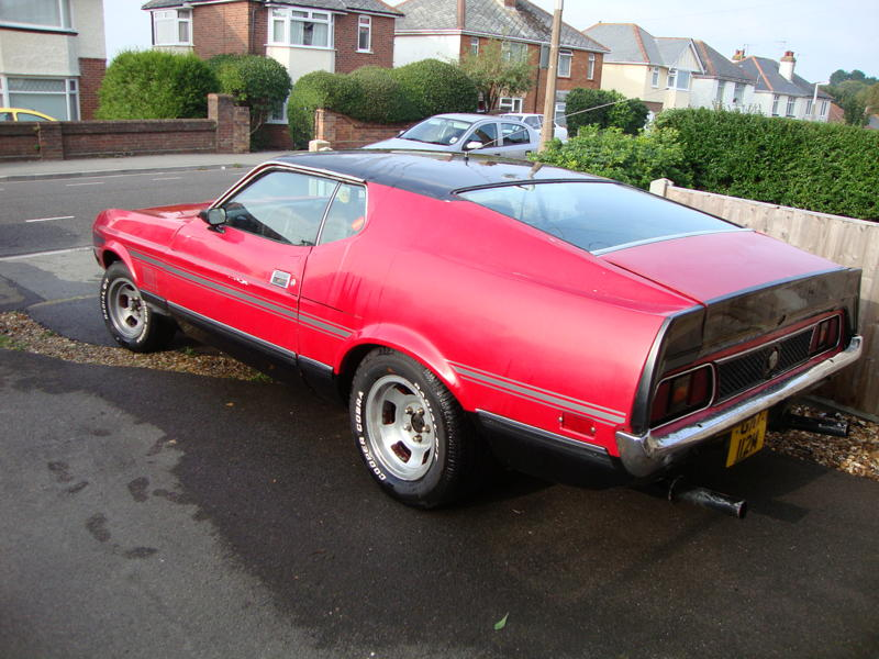 1972 Mustang Mach 1 Cobra Jet Ford Muscle Forums Ford