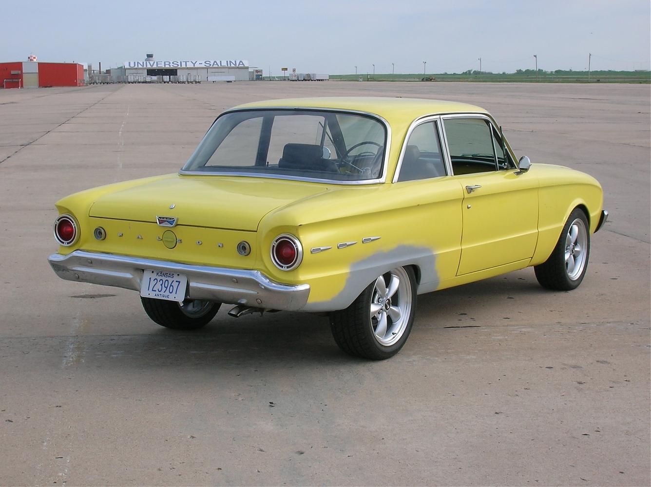 -'61 Falcon Futura 2-door,