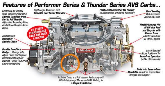 D Vacuum Advance Issues Edelbrock on Ford 460 Vacuum Diagram
