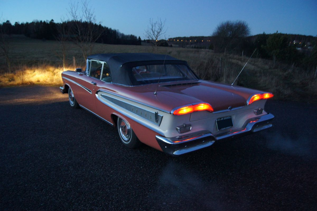 New Full Size Project 58 Edsel Pacer Page 2 Ford