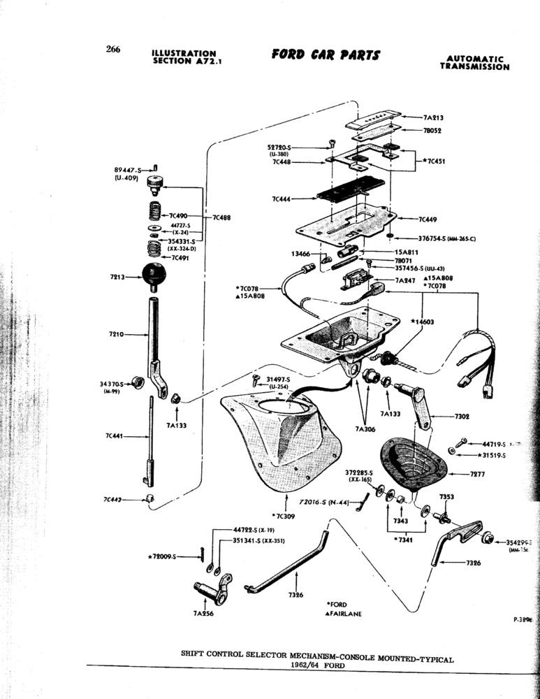1963 s  c automatic floor shift conversion