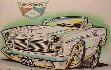 sunliner auto art artwork