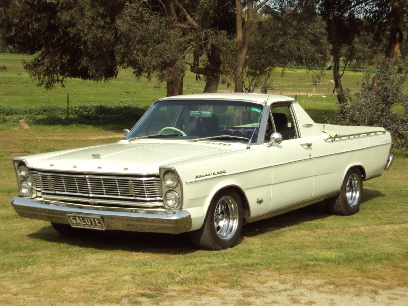 Ford 1965 Galaxie Ute Pick Up From Australia Ford Muscle Forums
