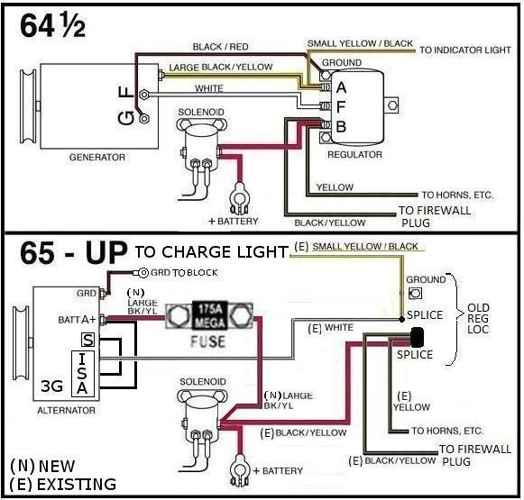 weekend fix 1 wire alternator headlight relay page 3 ford rh fordmuscleforums com Relay Connection Diagram Relay Connection Diagram
