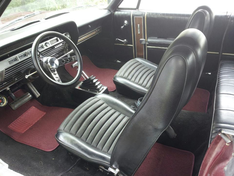 He said I dont need kickdown   67 gal, C6 - Ford Muscle Forums