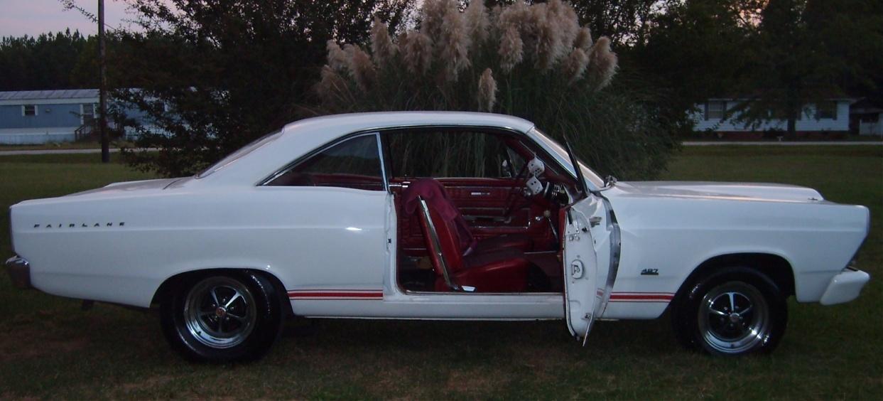 1966 Ford Fairlane GT 2 Door Hardtop 390 V8 4 Speed For Sale
