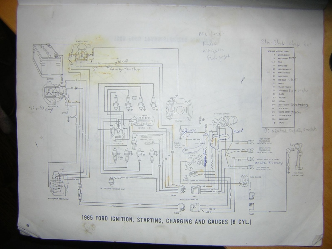no clue   ignition  ford muscle forums ford muscle Ford Truck Wiring Diagrams Basic Ford Solenoid Wiring Diagram