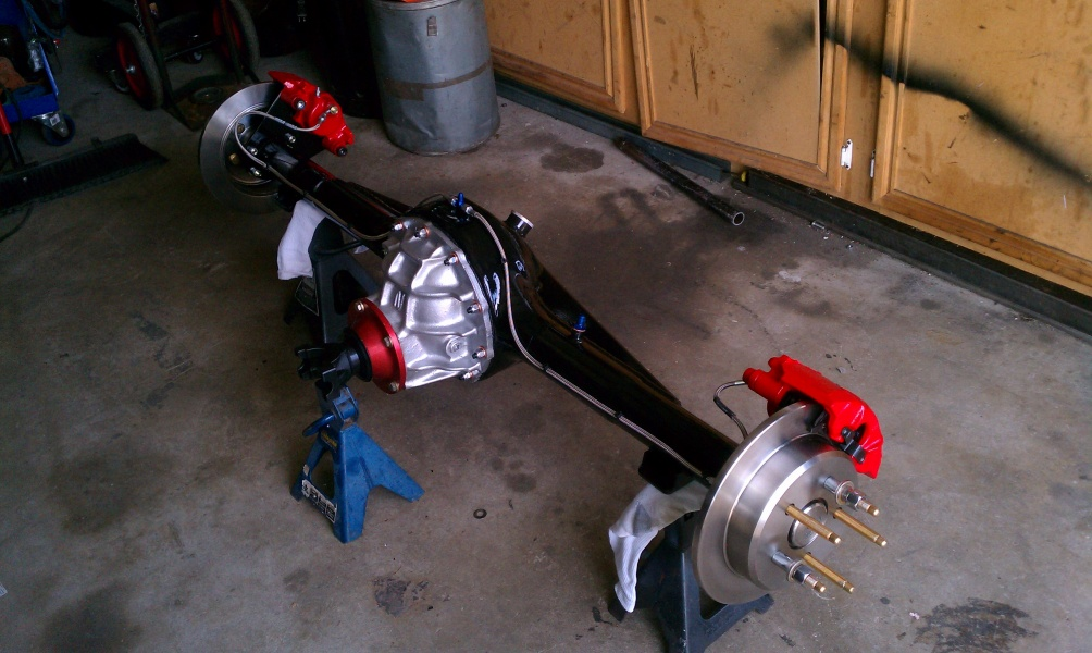 Rebuilt Rear end and custom brakes - Ford Muscle Forums