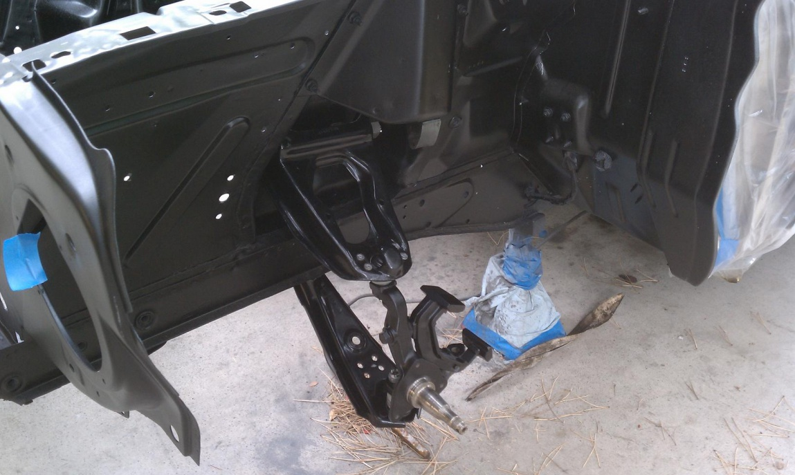 64 v8 conversion granada spindles issue - Ford Muscle Forums