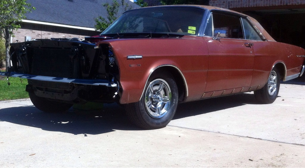 """Kelsey Hayes (KH) 15"""" Wheels from a 1966 Ford Galaxie 7 Litre-imageuploadedbyautoguide1393653774.637454.jpg"""