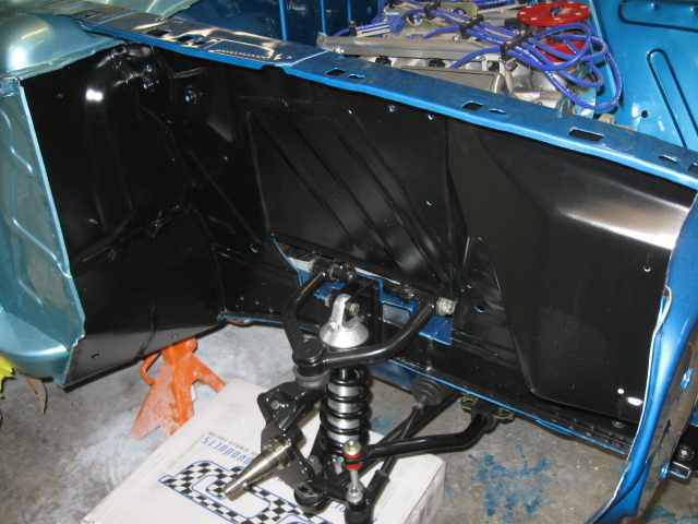 Classic Muscle Cars >> TCI complete Independant front suspension? - Ford Muscle Forums : Ford Muscle Cars Tech Forum