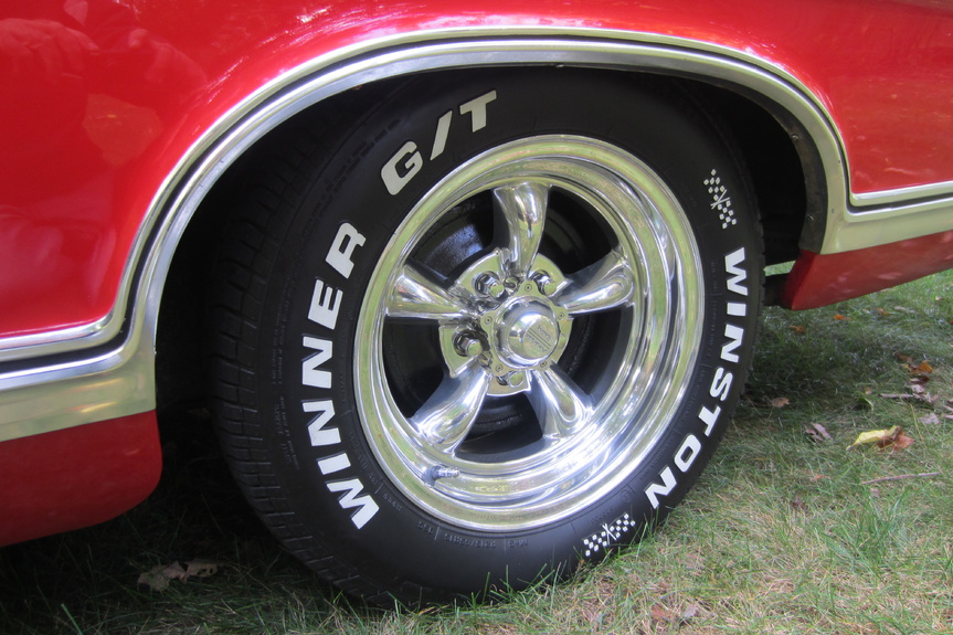 Lets See What Rims And Tire You Guys Have On Car Ford Muscle