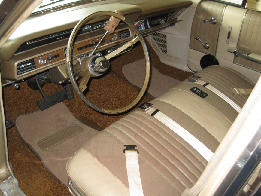 1966 Country Squire Wagon Bagged Air Ride Ford Muscle