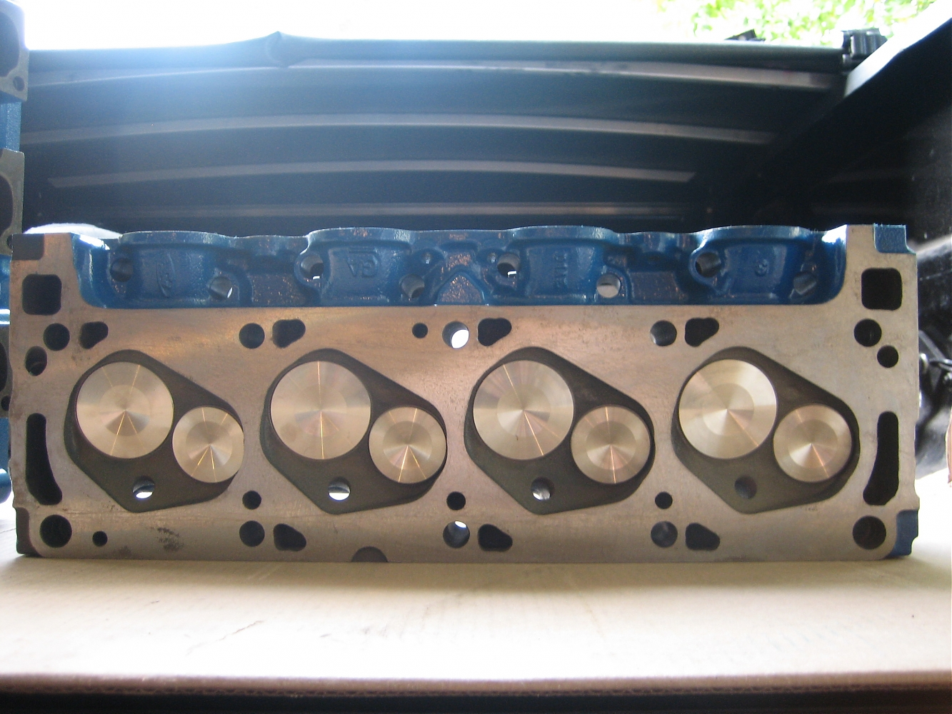 1970 351C Closed Chamber 4V Cylinder heads - Ford Muscle