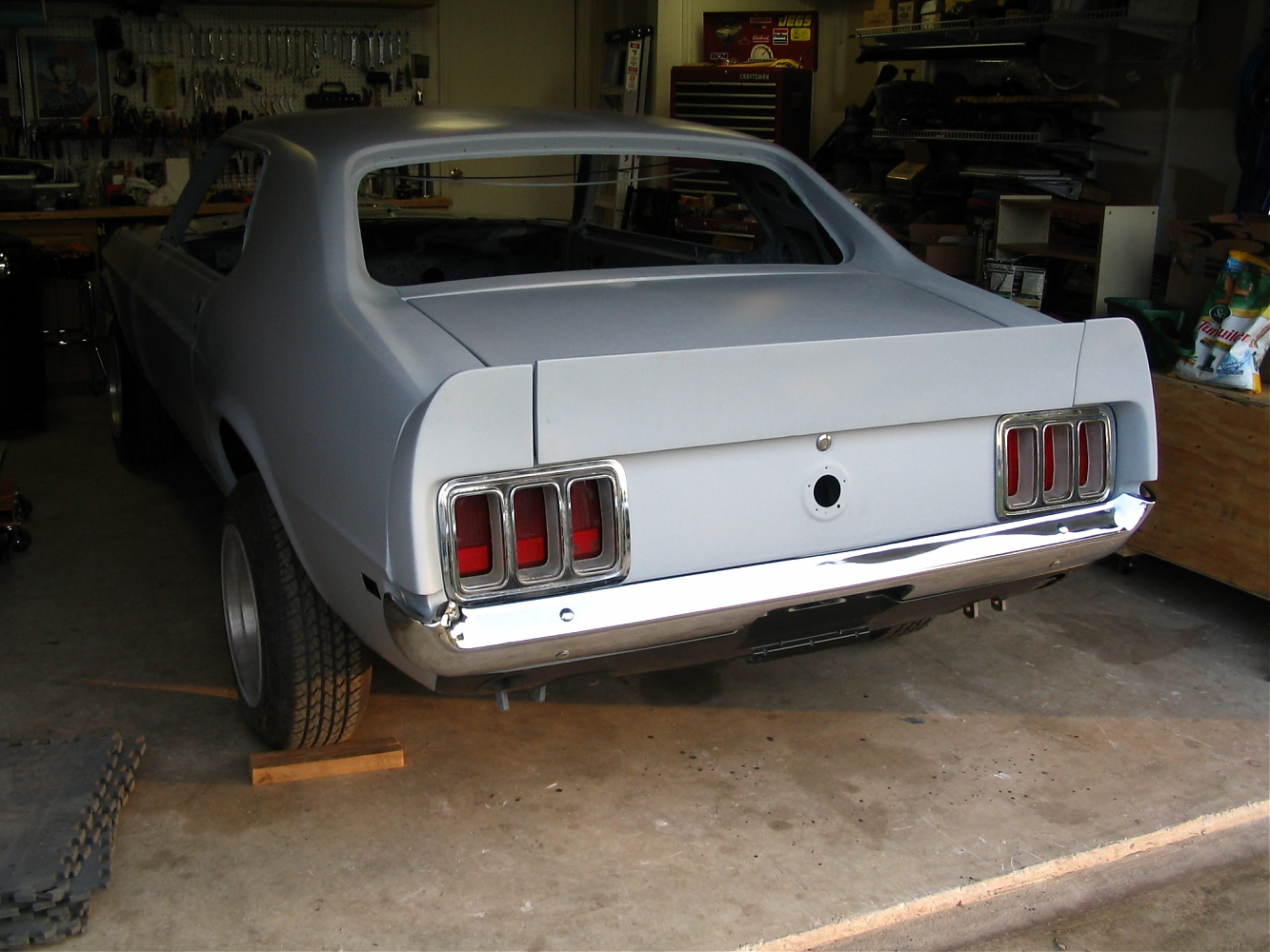 1970 Mustang Coupe Restoration In Progress Ford Muscle