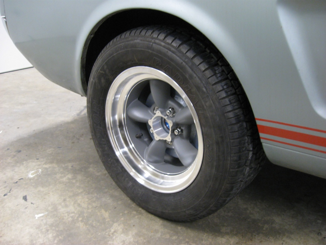 Ford Muscle Cars >> Pics of my 65Gt with 15x8 Torq Thrust - Ford Muscle Forums ...