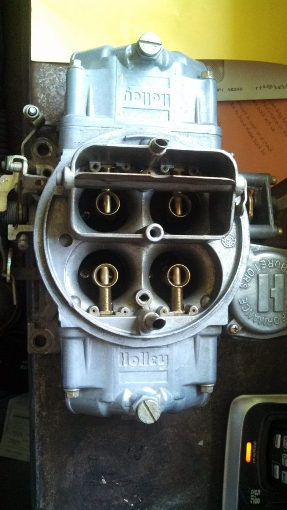 holley 3310- 10 750 cfm carb - Ford Muscle Forums : Ford