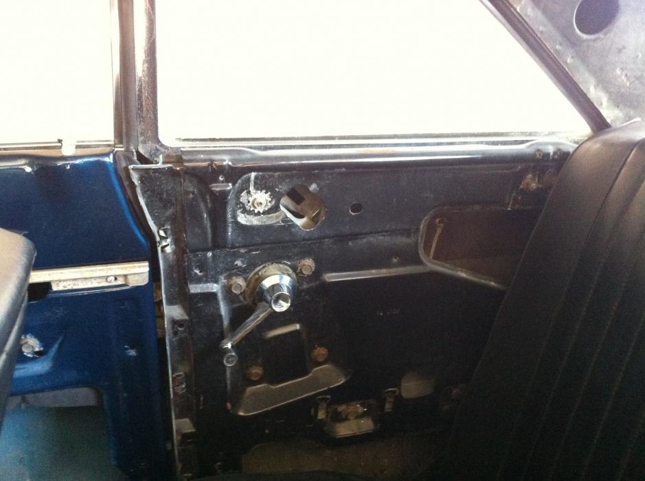 1964 Falcon 2dr Hardtop Interior Quarter Panel Ford