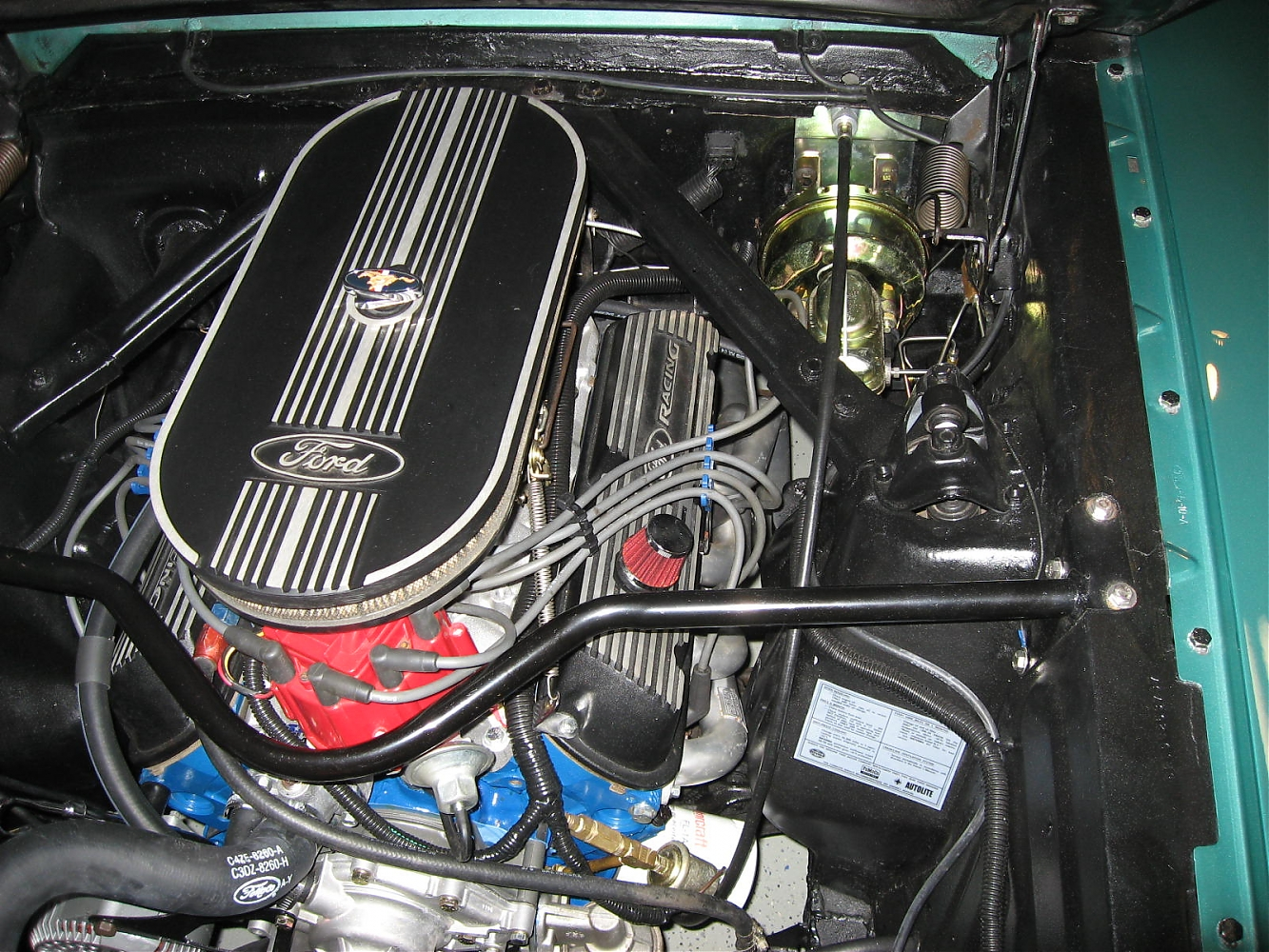 69 clutch cable conversion - Ford Muscle Forums : Ford
