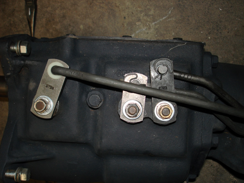 Toploader linkage help !!! - Ford Muscle Forums : Ford