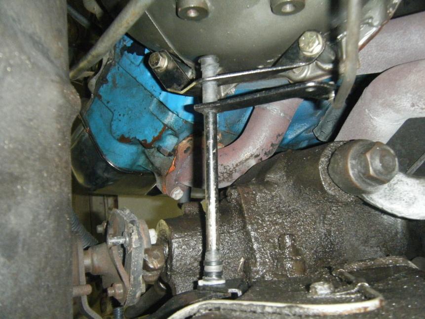 c6 shift linkage